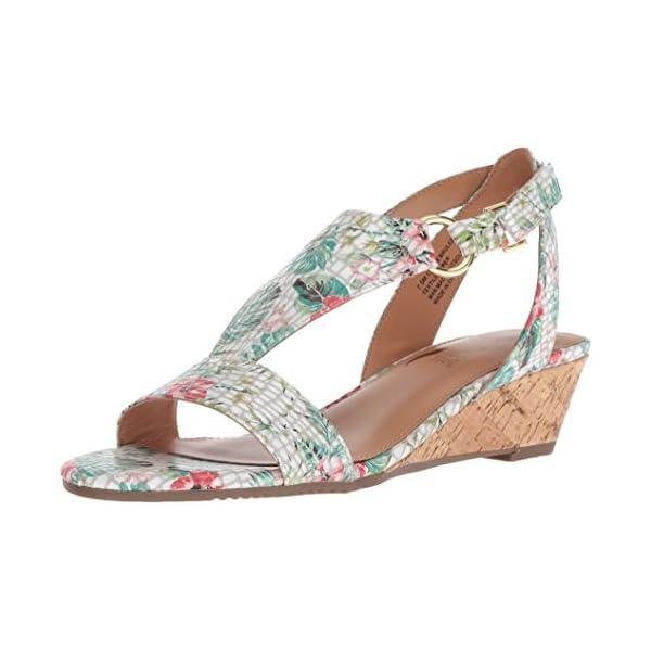 Aerosoles Women's Creme Brulee Wedge Sandal, Floral Combo, Size 6.0 US / 4 UK US 41CbvfqIIjL