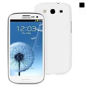 Snugg - Housse blanche pour Samsung Galaxy S3 de haute qualité en polyuréthane thermoplastique - Matériau antidérapant, ultra-mince, protecteur et doux au toucher - Conçu par Snugg, les créateurs numéro 1 des étuis pour iPad 2 et iPad 3 en tête des ventes