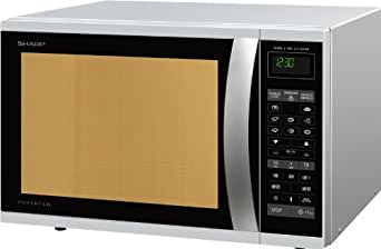 Sharp R-971INW micro-onde - micro-ondes (375 x 395 x 272 mm)
