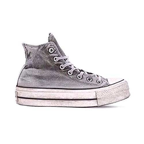 e2553e854a0e1 Converse Women s Shoes All Star Chuck Taylor Smoked Grey Sneaker SS 2019