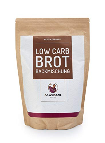 Coach Cecil Low Carb Brot Backmischung - 1500g -...