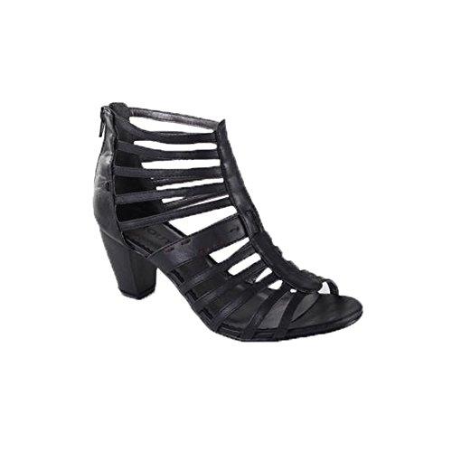 Schuhzoo , Sandales pour femme * taille asiatique XL Noir