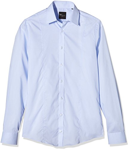 Venti Herren Businesshemd Blau (Blau 108)