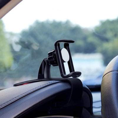 HaiMa Auto Multi-Funktion Dashboard Hud Direct-Ansicht Handy-Halterung Halter 360 Rotierend-Schwarz