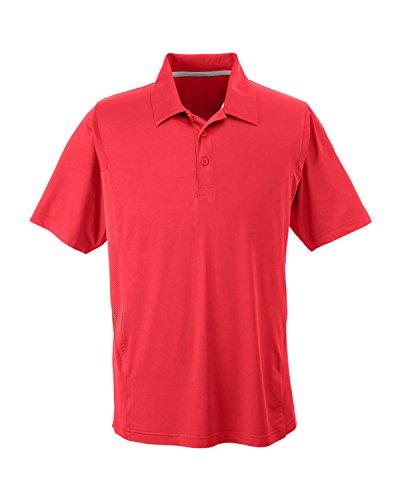 Team 365TT20Herren Ladegerät Performance Polo Shirt Sport Red