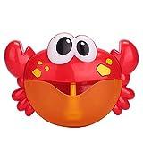 FOONEE Krabben-Automatischer Blasenautomat, Badesauger automatischer Auslauf, süßes...