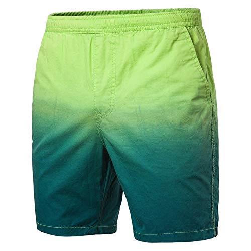 Herren Badeshorts Freizeit Kurze Badehose Schnell Trocknend Strandshorts Sommer Schwimmhose Farbverlauf drucken Elastizität Beachshorts Bermuda Short M-3XL