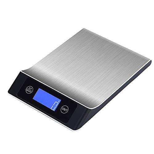 Crylee - Báscula digital cocina acero inoxidable