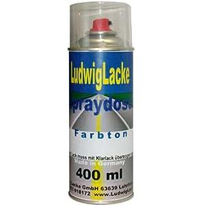 Spray Ice Blue Code couleur B de g-506m modèles 2001–2006metalliclack une base Spray Vernis 400ml Laque auto 1K (Convient pour Honda)