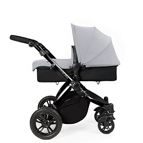 Ickle Bubba Stomp V2 All-in-One Travel System, Silver on Black 41Cc76NvXVL