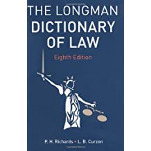Dictionary of Law Pack.
