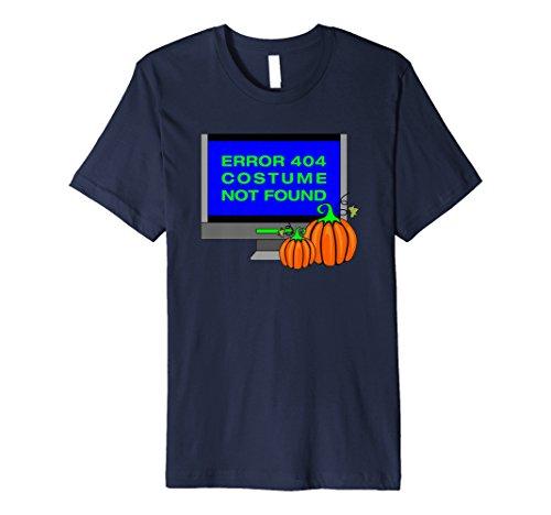 404 Fehler Shirt Kostüm - Fehler 404Kostüm nicht gefunden T-Shirt Funny Halloween Tee