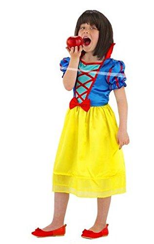Folat 21861 - Kinderkostüm Schneewittchen (Roter Apfel Kind Kostüme)