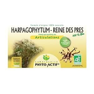PHYTO ACTIF - Harpagophytum-Reine des prés (Articulations) Bio - 20 ampoules