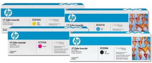 Preisvergleich Produktbild HP–Hewlett Packard Original Toner HP 304A Satz von 4schwarz, cyan, magenta, gelb
