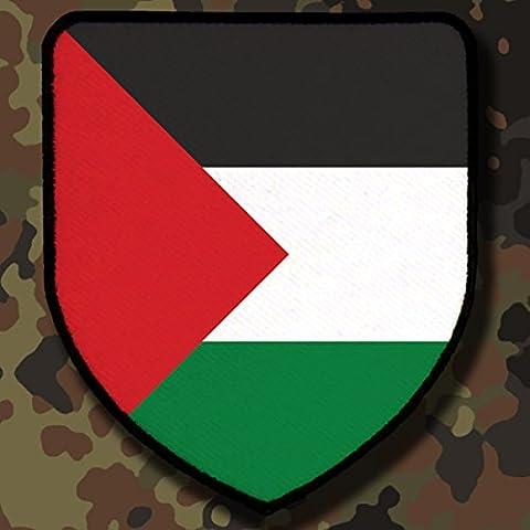 Patch / Aufnäher - Fahne Palästina Frieden Israel Fahnen Flagge