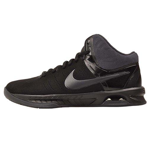 Air Visi Pro Basketball Sneaker VI Nubuk schwarz/anthrazit 11,5, Schwarz - Schwarz/Dunkelgrau - Größe: 49.5 EU (Größe 6 Nike High Tops)