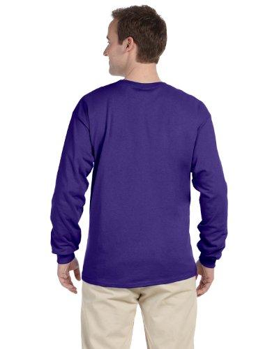 Fruit of the Loom T-shirt - 4930R Heavy Cotton Violett - Violett