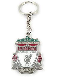 Key Era Football Club Liverpool Double Sided Multi Colour Metal Keychain & Keyring For Bikes, Cars, Bags, Home...