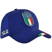 Italia FIGC Cappellino Ufficiale con stemma Larghezza regolabile fedb66141d24