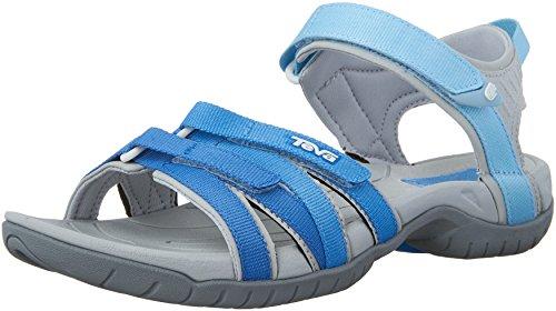 Teva Damen W Tirra Sport-& Outdoor Sandalen, Cool Blue Gradient, 40 EU (Cool Grip Pad)