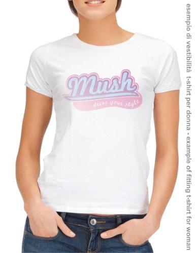 T-SHIRT WALKING DEAD ZOMBIE MANO-SERIE TV by MUSH Dress Your Style BLU NAVY