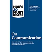 HBR's 10 Must Reads on Communication: Includes 1 Bonus Disc