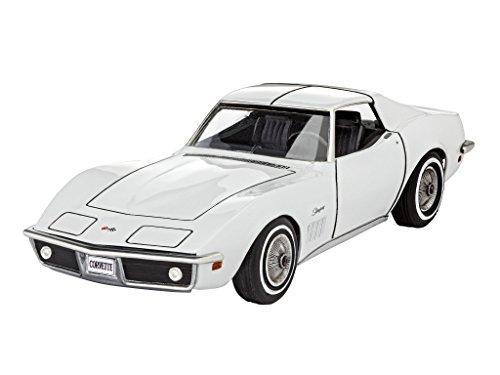 Revell 07684 - Modellbausatz Auto 1:32 - Corvette C3 im Maßstab 1:32, Level 3, Orginalgetreue Nachbildung mit vielen Details - 1 32 Maßstab Autos