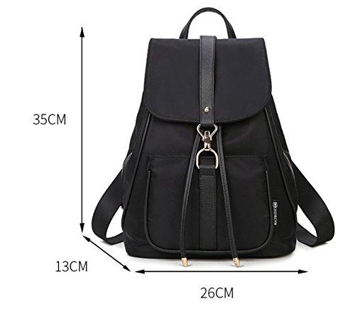 nylon zaino ragazza/zaino/Ladies casual versatile borsa da viaggio-B A