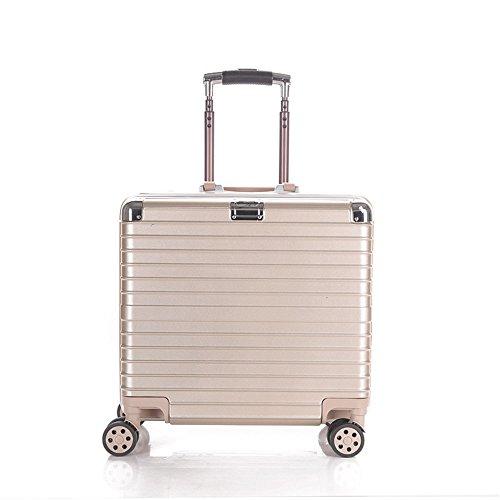 Cotangle Reisen Sie mit Handgepäck 18 Zoll Aluminium Rahmen Pull Rod Box Universal Rad Boarding Gepäck Gepäck Geschenk Großhandel Reise Box
