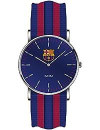Reloj RADIANT F.C.Barcelona BA10602 Unisex Nailon Azul y granate