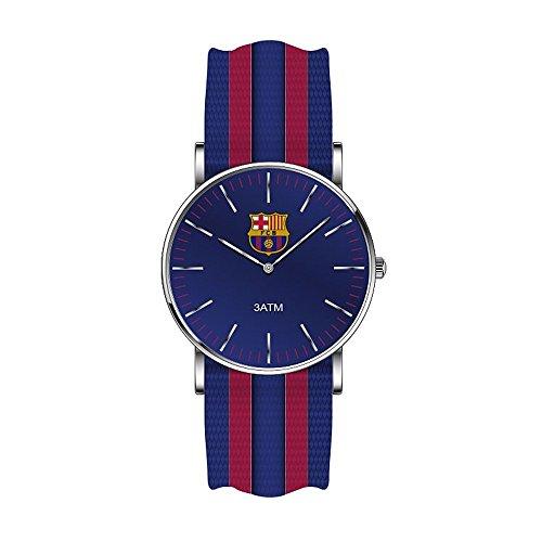 RADIANT F.C.Barcelona Unisex watch BA10602 Nailon Blue and Garnet