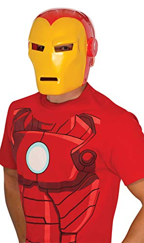 Rubie 's Offizielles Marvel Iron Man Maske Erwachsene Kostüm-EINE Größe ()