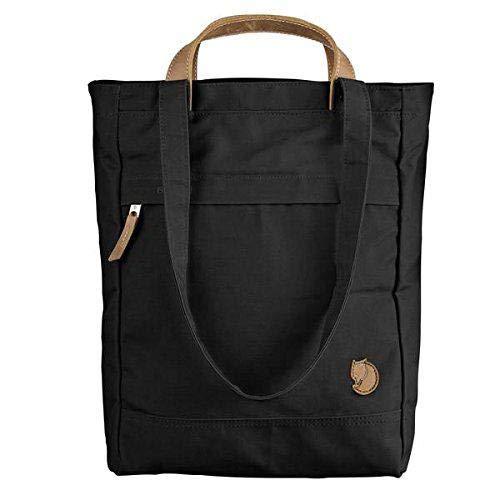 FJÄLLRÄVEN Unisex-Erwachsene Totepack No.1 Small Tasche, Schwarz (Black), 10x35x25 cm (B x H x T)