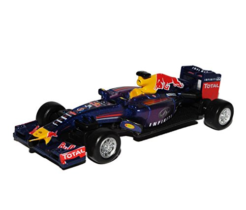 Preisvergleich Produktbild Sebastian Vettel RB9 Infiniti Red Bull Racing Team Formel 1 Weltmeister 2013 1/64 Bburago Modell Auto