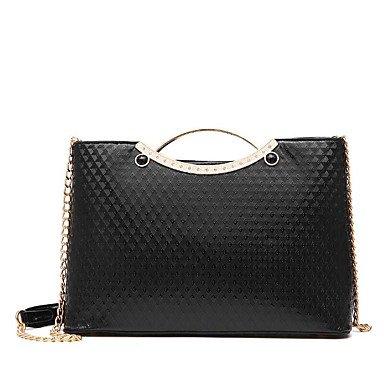 Damenmode PU Leder Schulter Messenger Bags/Handtasche Gold