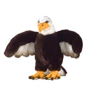 Plush & Company 05787 Quinny Kris - Águila de Peluche (29 cm)