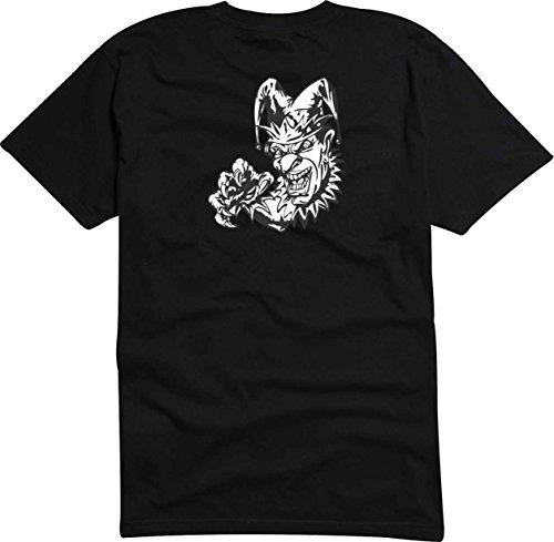 T-Shirt Herren Monster Wolkenkratzer Digital