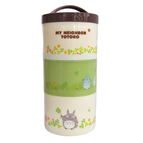 My Neighbor Totoro (clover) bottle type 3 stage lunch box LRT3 (japan import)