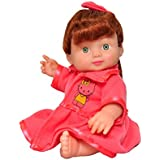 Toyshine 8 inches Realistic Jinny Baby Doll Girl, Color May Vary