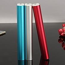 EsportsMJJ Bricolaje De 15000mAh 5V 1.5A Potencia Banco Caja Kit 18650 Batería Cargador Caja Para iPhone Huawei Sunmsang-Rojo