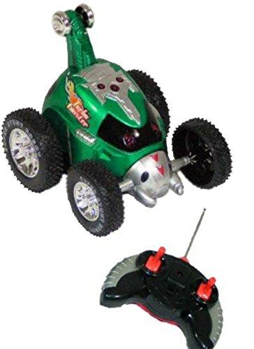 Spielzeug RC Auto, A05 GRÜN, Ferngesteuertes R/C Auto Stuntauto mit Fernsteuerung, ferngesteuertes Stuntauto, Geschenk-idee für Jungen und Mädchen Weihnachten zum Geburtstag, Geburtstags-Geschenk