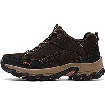 YY Hombres Exterior Zapatos De Senderismo Antideslizante Resistente Al Desgaste Field Calzado Deportivo Impermeable