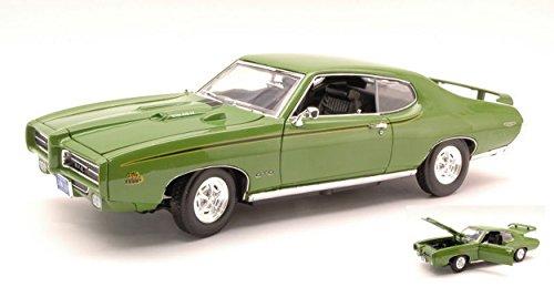 motormax-mtm73133gr-pontiac-gto-judge-1969-green-118-modellino-die-cast-model