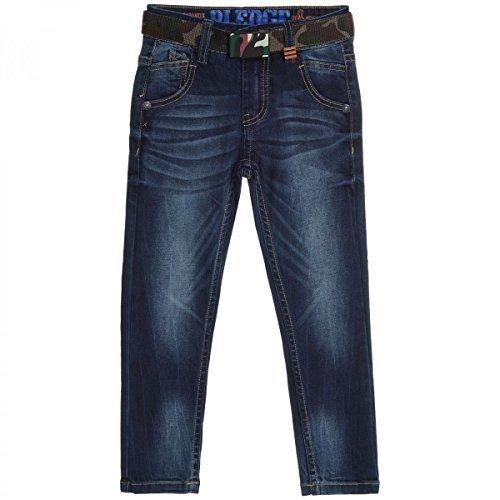 Kinder Jungen Jeans Hose Skinny Slim Fit Röhre Stretch Röhrenjeans Used 20467, Farbe:Blau;Größe:110 (Für Jungen Skinny-anzüge)