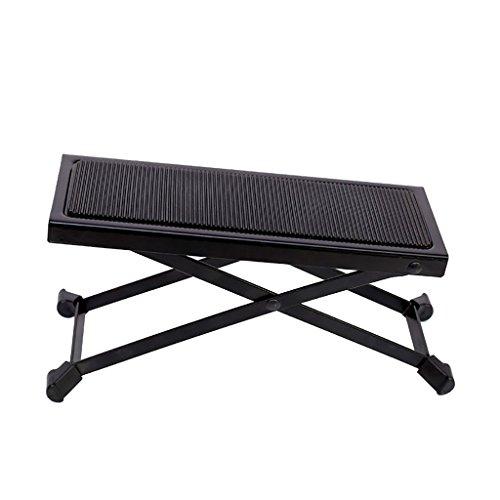 Imagen de reposapiés para  pedal de  clásica ajustable 5 pedal de  de altura pedal de  negro