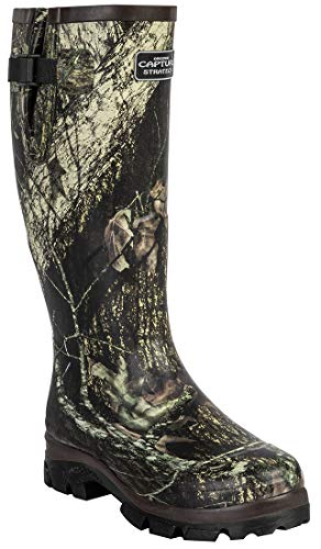 VTK Capture Outdoor Wellies Lining Neoprene 4 Camouflage Strategy Warm Boots Hunting Gardening Fishing Hiking