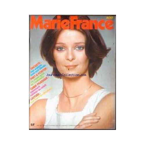 MARIE FRANCE [No 270] du 01/08/1978 - NOS ENFANTS SONT MAL ELEVES - PRET A PORTER - COMMENT CUISINER AU SOLEIL LECTURE.