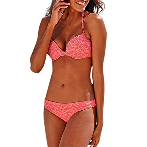 TWIFER Damen Blumendruck Bikini Set Schwimmen Badeanzüge Badeanzug Badeanzug