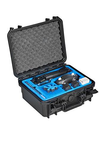 MC-Cases Transportkoffer für die Neue Parrot Anafi mit Platz für Skycontroller 3 und Viele Akkus Sowie Zubehör